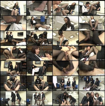 NFDM-371 I Was Bullied In Black Stockings Asian Femdom Foot Fetish