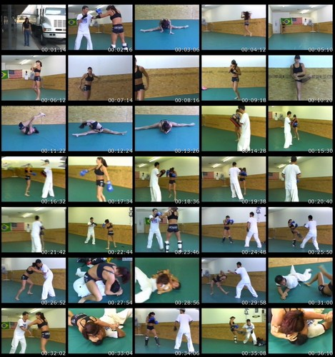 TO-008  Sports Women Project Fight Video 8 Asian Femdom